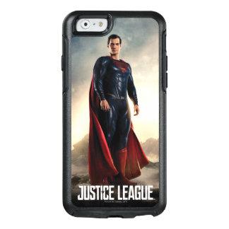 Coque OtterBox iPhone 6/6s Ligue de justice | Superman sur le champ de