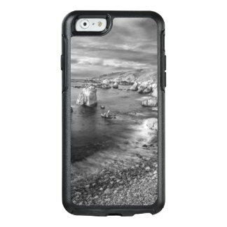 Coque OtterBox iPhone 6/6s Littoral de plage de B&W, la Californie