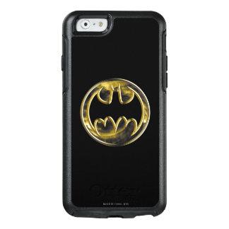 Coque OtterBox iPhone 6/6s Logo d'or du symbole   de Batman