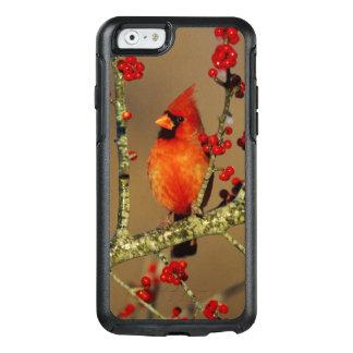 Coque OtterBox iPhone 6/6s Mâle cardinal du nord été perché, IL