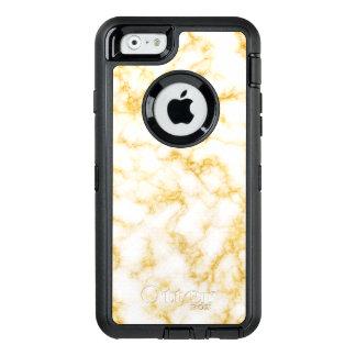 Coque OtterBox iPhone 6/6s Marbre élégant - blanc d'or
