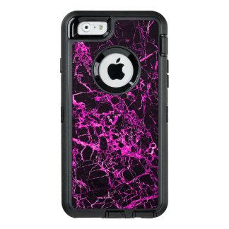 Coque OtterBox iPhone 6/6s Marbre noir et rose,