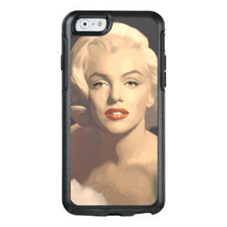 Coque OtterBox iPhone 6/6s Marilyn grise graphique