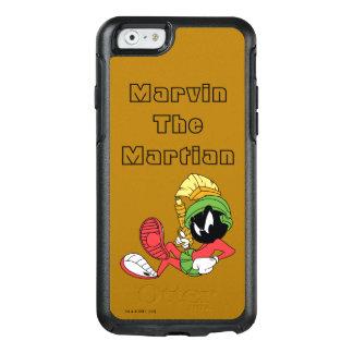 Coque OtterBox iPhone 6/6s MARVIN le MARTIAN™ reposant avec le laser