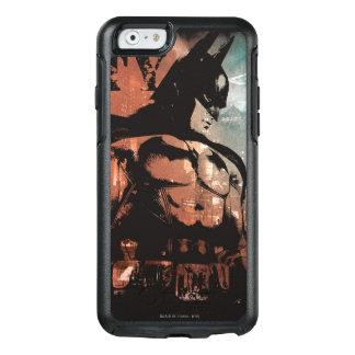 Coque OtterBox iPhone 6/6s Médias mélangés de Batman de ville d'Arkham