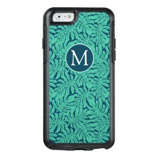 Coque OtterBox iPhone 6/6s Monogramme tropical du motif | de feuille de