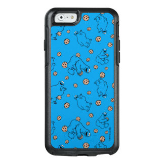 Coque OtterBox iPhone 6/6s Monstre de biscuit et motif bleu de biscuits