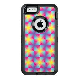 Coque OtterBox iPhone 6/6s Mosaïque carrée abstraite de vecteur