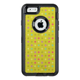 Coque OtterBox iPhone 6/6s Motif à pois d'arrière - plan
