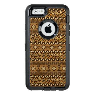 Coque OtterBox iPhone 6/6s Motif africain 2 de peau de guépard