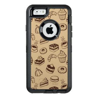 Coque OtterBox iPhone 6/6s Motif avec des gâteaux, des desserts et la