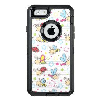 Coque OtterBox iPhone 6/6s motif avec des insectes
