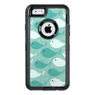Coque OtterBox iPhone 6/6s motif avec des poissons
