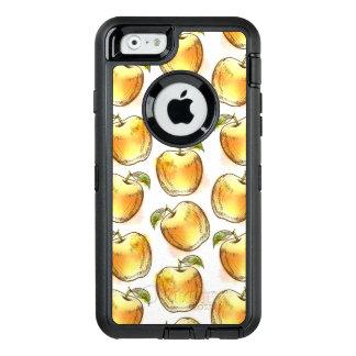 Coque OtterBox iPhone 6/6s Motif avec la pomme jaune
