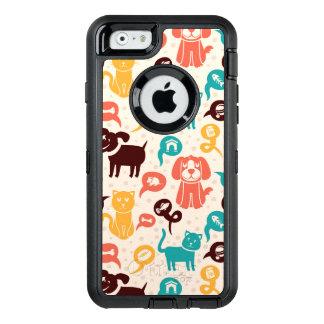 Coque OtterBox iPhone 6/6s Motif avec les chats et les chiens drôles
