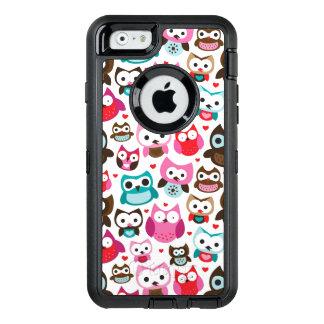 Coque OtterBox iPhone 6/6s motif coloré de hibou