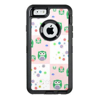 Coque OtterBox iPhone 6/6s Motif coloré de hibou pour des enfants