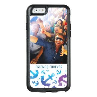 Coque OtterBox iPhone 6/6s Motif | d'ancre de colorant de cravate votre photo