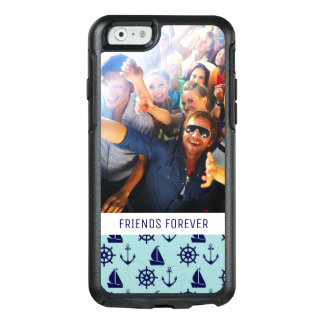 Coque OtterBox iPhone 6/6s Motif | de bord de la mer votre photo et texte