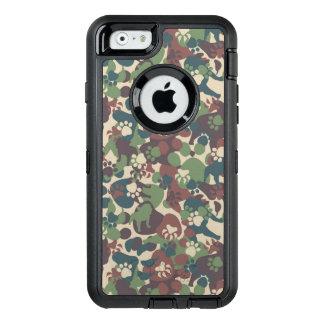 Coque OtterBox iPhone 6/6s Motif de camouflage de chien