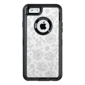 Coque OtterBox iPhone 6/6s Motif de dentelle, cru 1 de fleur