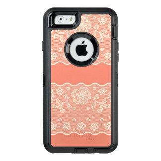 Coque OtterBox iPhone 6/6s Motif de dentelle, cru 4 de fleur