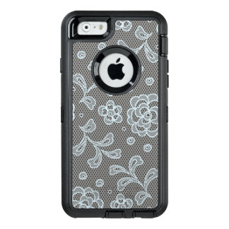 Coque OtterBox iPhone 6/6s Motif de dentelle, cru 6 de fleur