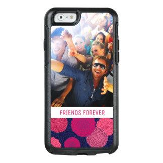 Coque OtterBox iPhone 6/6s Motif de fleurs rond faites sur commande de photo