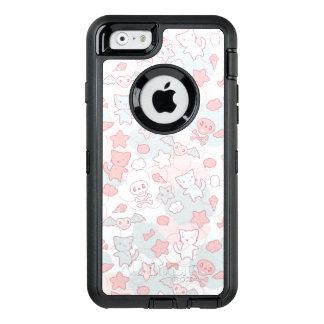 Coque OtterBox iPhone 6/6s motif de kawaii avec le griffonnage
