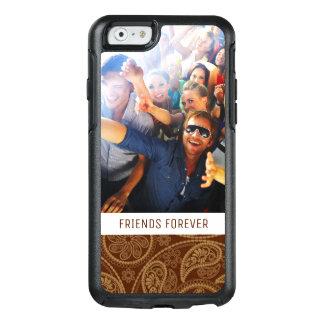 Coque OtterBox iPhone 6/6s Motif de mandala fait sur commande de photo et de