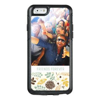Coque OtterBox iPhone 6/6s Motif de papillon floral fait sur commande de