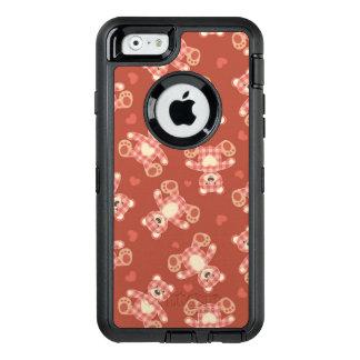 Coque OtterBox iPhone 6/6s motif de patchwork d'ours