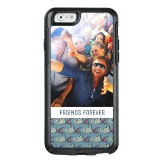 Coque OtterBox iPhone 6/6s Motif | de poissons de point de polka votre photo