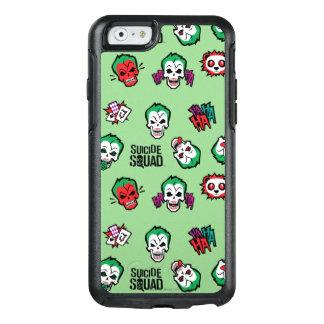 Coque OtterBox iPhone 6/6s Motif d'Emoji de joker du peloton   de suicide