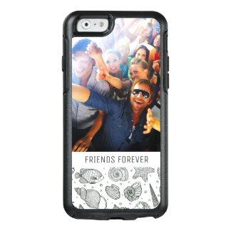 Coque OtterBox iPhone 6/6s Motif | d'habitants d'océan votre photo et texte