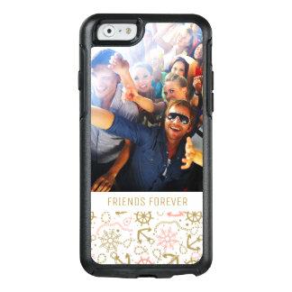 Coque OtterBox iPhone 6/6s Motif d'or | d'ancre votre photo et texte