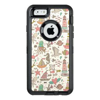 Coque OtterBox iPhone 6/6s Motif drôle d'été avec des bateaux