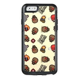 Coque OtterBox iPhone 6/6s Motif du peloton   Deadshot Emoji de suicide