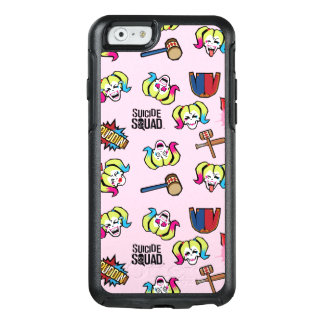 Coque OtterBox iPhone 6/6s Motif du peloton   Harley Quinn Emoji de suicide