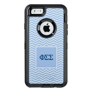 Coque OtterBox iPhone 6/6s Motif du sigma | Chevron de sigma de phi