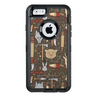 Coque OtterBox iPhone 6/6s Motif ethnique de chasse