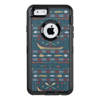 Coque OtterBox iPhone 6/6s Motif ethnique de pêche