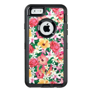 Coque OtterBox iPhone 6/6s Motif floral de ketmie tropicale