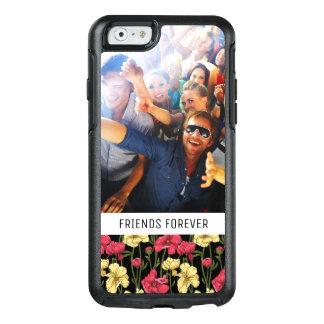 Coque OtterBox iPhone 6/6s Motif floral élégant fait sur commande 2 de photo