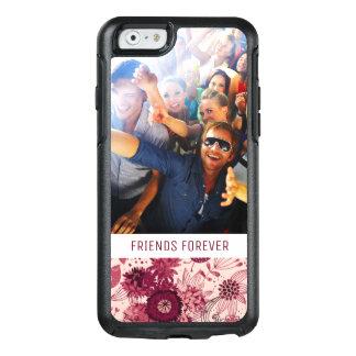 Coque OtterBox iPhone 6/6s Motif floral fait sur commande de photo et de