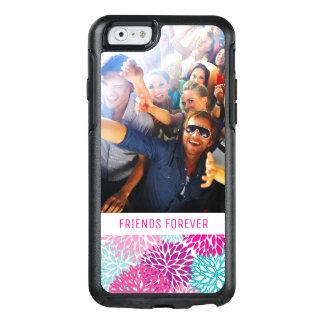 Coque OtterBox iPhone 6/6s Motif floral lumineux fait sur commande 2 de photo
