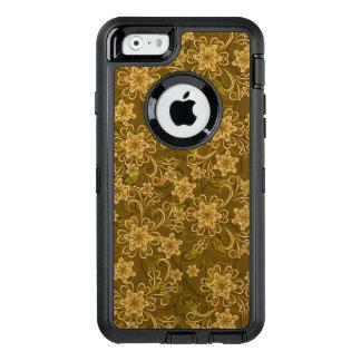 Coque OtterBox iPhone 6/6s Motif floral vintage d'or
