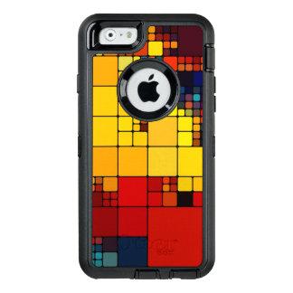 Coque OtterBox iPhone 6/6s Motif géométrique d'arc-en-ciel vibrant abstrait