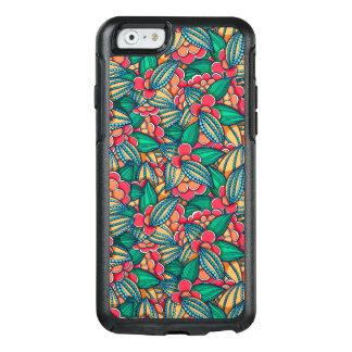 Coque OtterBox iPhone 6/6s Motif illustré abstrait coloré de graines de cacao