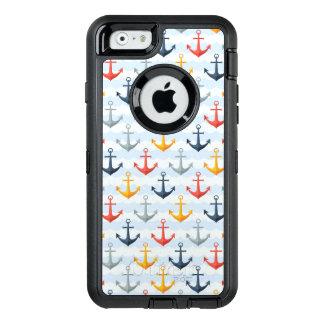 Coque OtterBox iPhone 6/6s Motif nautique avec des ancres